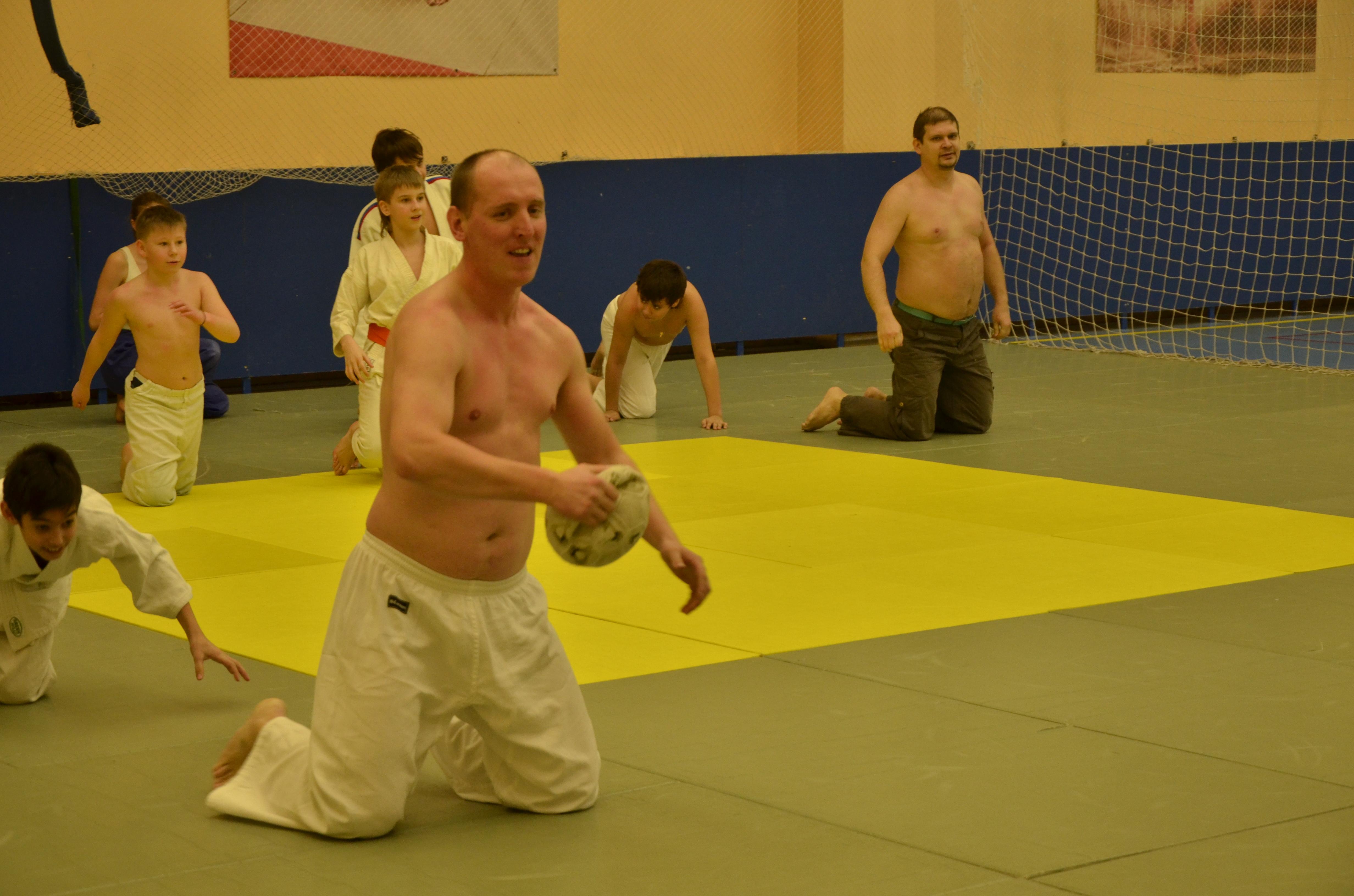 Открытая тренировка Урал Айкидо