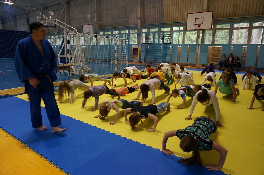 Летний лагерь Урал Айкидо