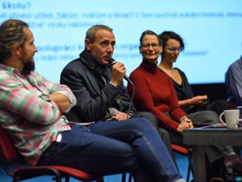Panelisté konference Jihlava vzdělává kulturou 2017