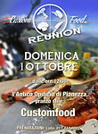 Custom Food - Reunion original event - flayer 2017