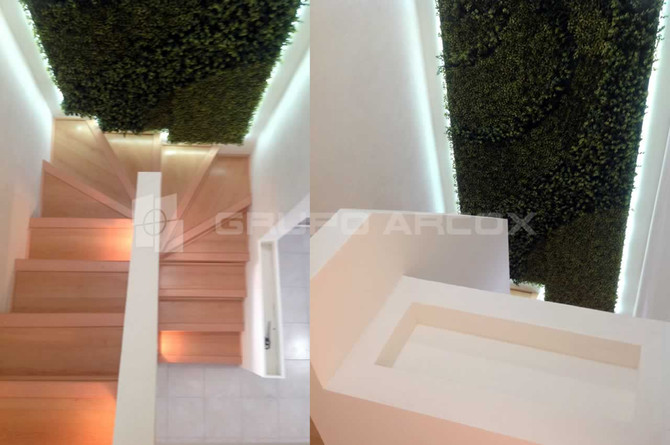 Construcción con Tablaroca para instalación de elementos como: muros, plafones, muebles, escaleras,