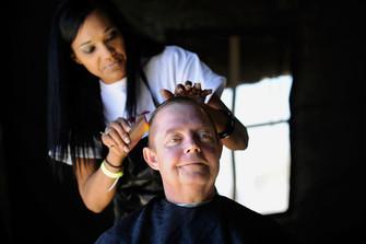 Homeless Haircut