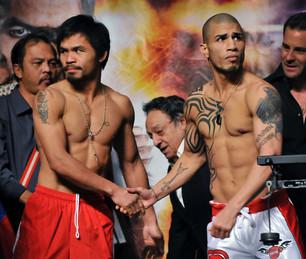 Pre-Fight Shake