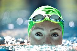 Swimmer Izzy Goldsmith