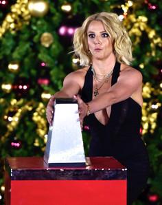 Singer Britney Spears Tree Lighting
