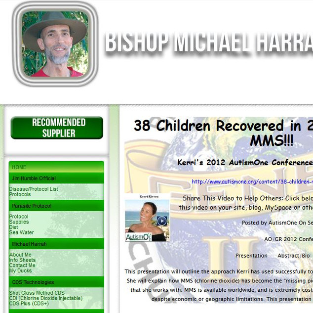 Michael Harrah Front Page.JPG