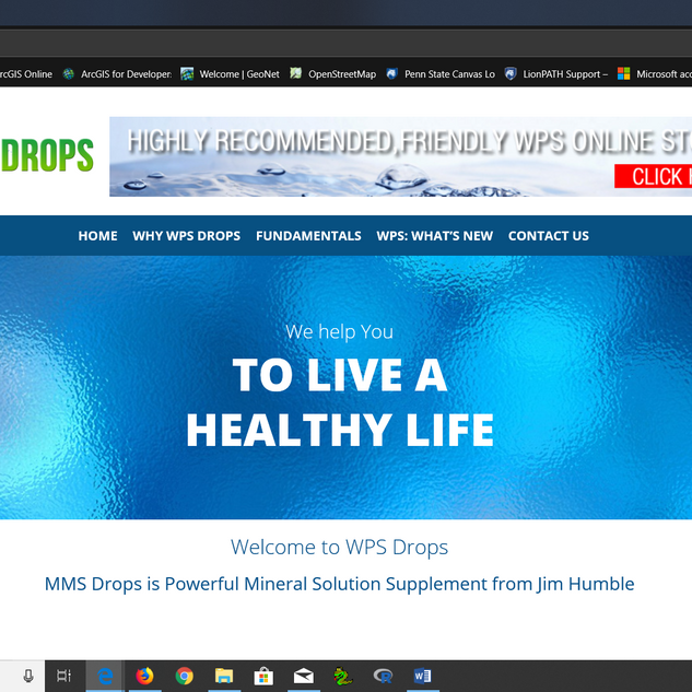 WPS Drops Website.png