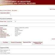 Parkalo Marketing Limited Registered Off