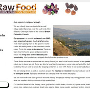 Real Raw Food Front Page.JPG