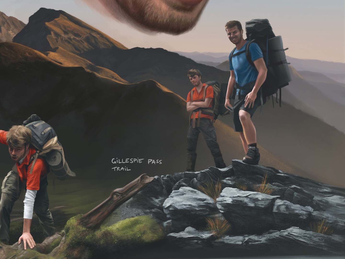 detail // hiking poses