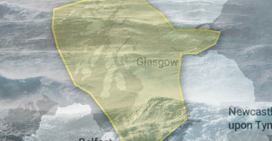 Met-Office issue weather warning ahead of Heavy Rain & Flooding forecasted across Ayrshire
