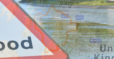 A Flood Alert has been issued for Ayrshire and Arran