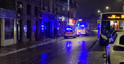 Woman 38 taken to hospital and 62-year-old man arrested after a serious incident in Prestwick