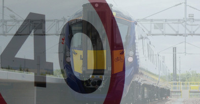 Trains running a reduced service with speed restrictions between Ayrshire & Glasgow tomorrow
