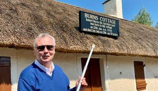 ITV's This Morning Presenter Eamonn Holmes visits Ayrshire Over Bank Holiday Weekend