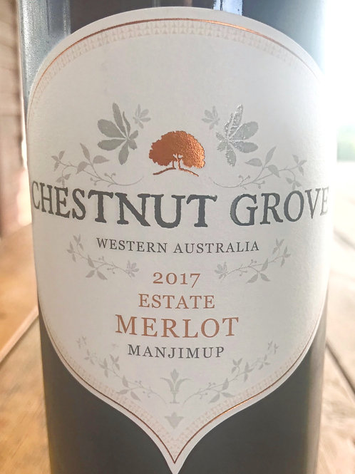 2017 Chestnut Grove Estate Merlot