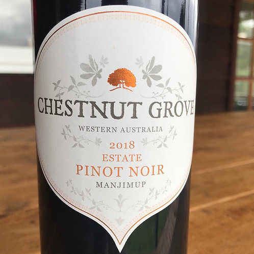 2018 Chestnut Grove Estate Pinot Noir