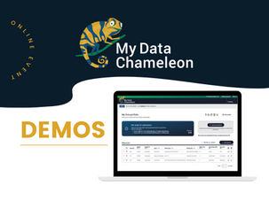 Join us for an online demo of My Data Chameleon