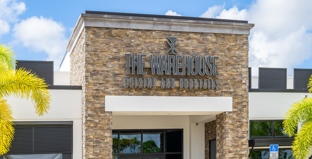 The Warehouse Cuisine and Cocktails Naples, FL Restaurant - Remodel