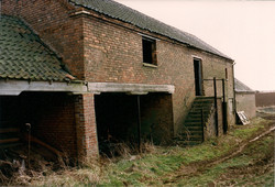 Derelict buildings at The Lodge