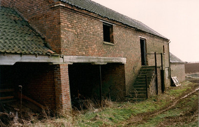 Farm buildings at The Lodge