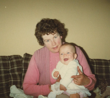 Nancy with her granddaughter Tracey