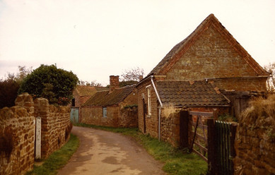 The Methodist Chapel and Manor Farm buildings
