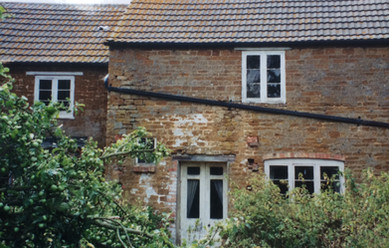 The rear of The Manor c. 1995