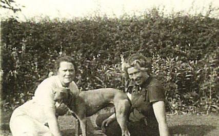 Hilda Holmes and Peg Pizer