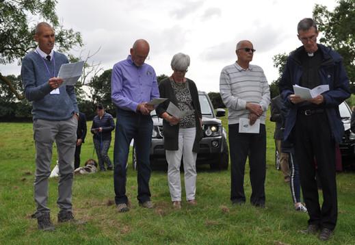 Richard Pincott of The Field Detectives reads the poem, 'Showpiece - Lancaster', by Walt Scott