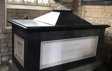 Tomb of Captain Edward Manners