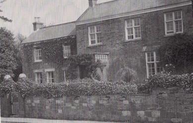 The Manor on Main Street, south facade, c. 1930s