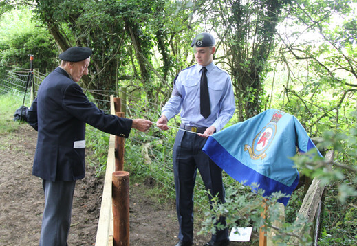 Unveiling of the Memorial Plaque