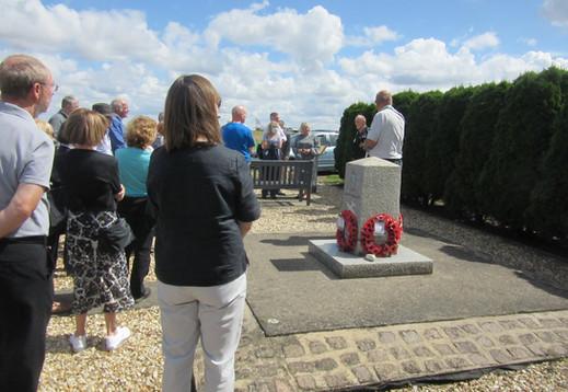 207 Squadron Memorial at Langar Airfield