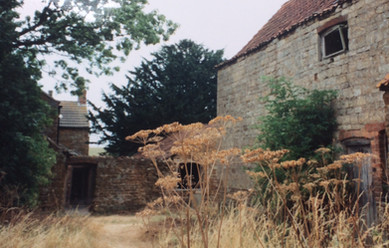 Outbuildings at The Manor c. 1995