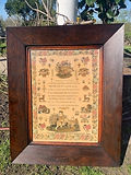 Sampler by Zillah Brutnell 1843 high res