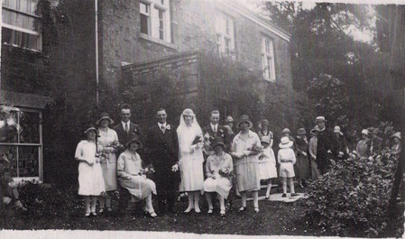 The wedding of Ida Ella Holmes and Charles Henry Duffin, 1926