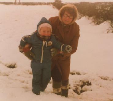 Nancy with grandson Richard