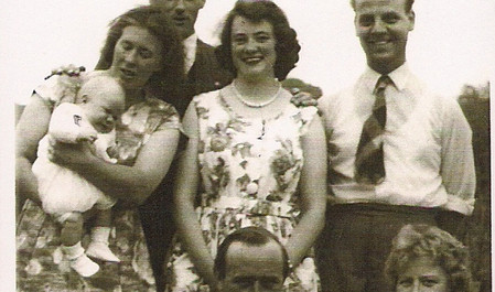 Residents of Goadby summer 1959