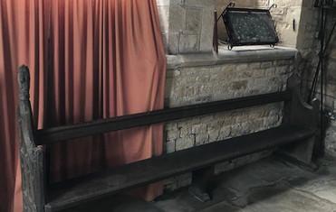 16th Century church pew