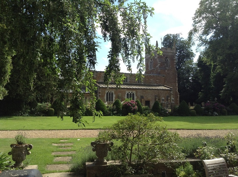 View of St. Denys' Church from Goadby Hall