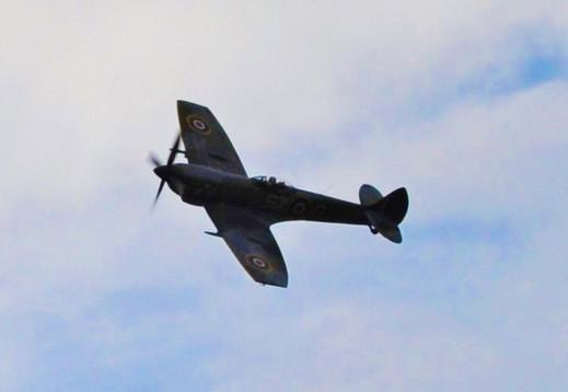 Spitfire Mk XVI TE311 of The Battle of Britain Memorial Flight