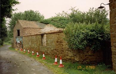 Manor Farm buildings, Towns Lane,  1993