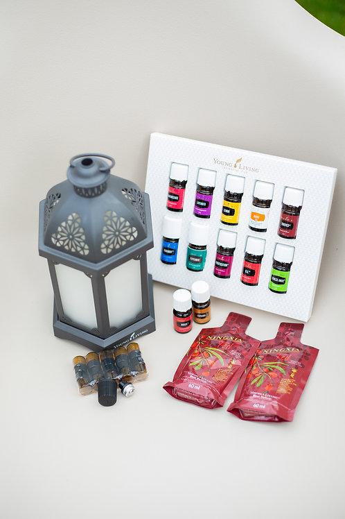 Premium Starterkit Charcoal Lantern