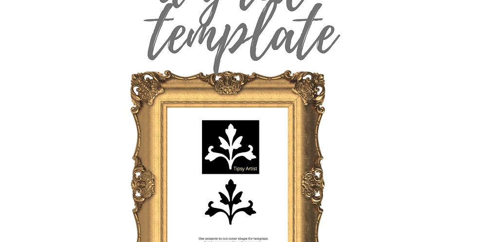 Ornate Leaf Template Pack