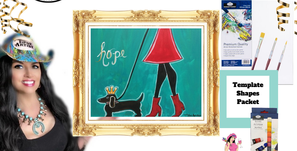 Walk of Hope ~ Painting Party Pack