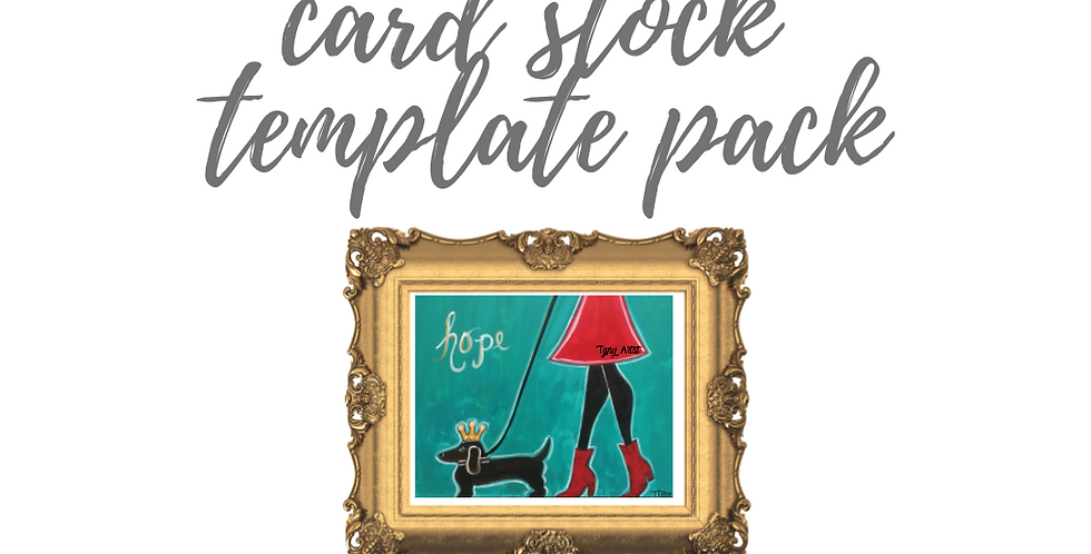 Walk of Hope Princess Puppy Template Pack with Online Video