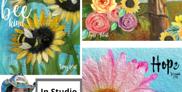 5/29 Registration for In Studio Painting Class