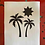 Thumbnail: 2 Palm Trees and Sun Digital Template Pack