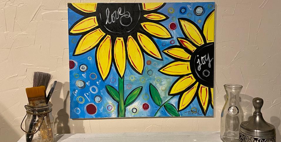 Love & Joy Sunflowers